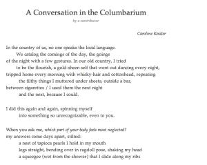 treehouse poem caroline kessler